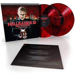 Hellraiser III original Soundtrack  (IN STOCK) - The Crimson Screen Collectibles, horror movie collectibles, horror movie toys, horror movies, blu-rays, dvds, vhs, NECA Toys, Mezco Toyz, Pop!, Shout Factory, Scream Factory, Arrow Video, Severin Films, Horror t-shirts