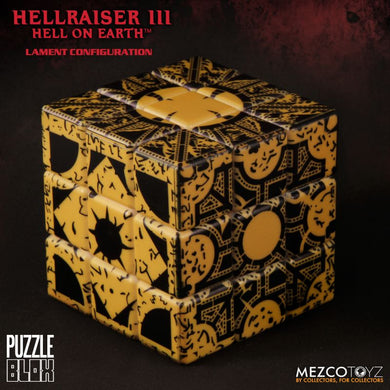 Hellraiser III: Lament Configuration (IN STOCK) - The Crimson Screen Collectibles, horror movie collectibles, horror movie toys, horror movies, blu-rays, dvds, vhs, NECA Toys, Mezco Toyz, Pop!, Shout Factory, Scream Factory, Arrow Video, Severin Films, Horror t-shirts