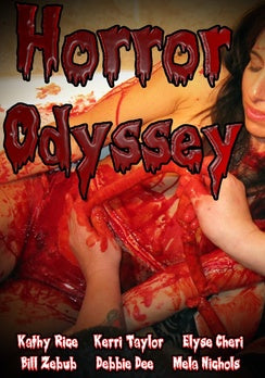 HORROR ODYSSEY (DVD) - The Crimson Screen Collectibles, horror movie collectibles, horror movie toys, horror movies, blu-rays, dvds, vhs, NECA Toys, Mezco Toyz, Pop!, Shout Factory, Scream Factory, Arrow Video, Severin Films, Horror t-shirts