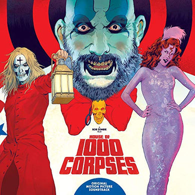 House Of 1000 Corpses original Soundtrack (IN-STOCK) - The Crimson Screen Collectibles, horror movie collectibles, horror movie toys, horror movies, blu-rays, dvds, vhs, NECA Toys, Mezco Toyz, Pop!, Shout Factory, Scream Factory, Arrow Video, Severin Films, Horror t-shirts
