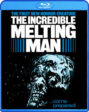 The Incredible Melting Man (Blu-Ray) - The Crimson Screen Collectibles, horror movie collectibles, horror movie toys, horror movies, blu-rays, dvds, vhs, NECA Toys, Mezco Toyz, Pop!, Shout Factory, Scream Factory, Arrow Video, Severin Films, Horror t-shirts