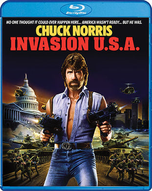 Invasion USA (Collector's Edition) - The Crimson Screen Collectibles, horror movie collectibles, horror movie toys, horror movies, blu-rays, dvds, vhs, NECA Toys, Mezco Toyz, Pop!, Shout Factory, Scream Factory, Arrow Video, Severin Films, Horror t-shirts