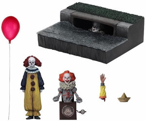 IT - Accessory Pack - 2017 Movie Accessory Set (NECA) - The Crimson Screen Collectibles, horror movie collectibles, horror movie toys, horror movies, blu-rays, dvds, vhs, NECA Toys, Mezco Toyz, Pop!, Shout Factory, Scream Factory, Arrow Video, Severin Films, Horror t-shirts