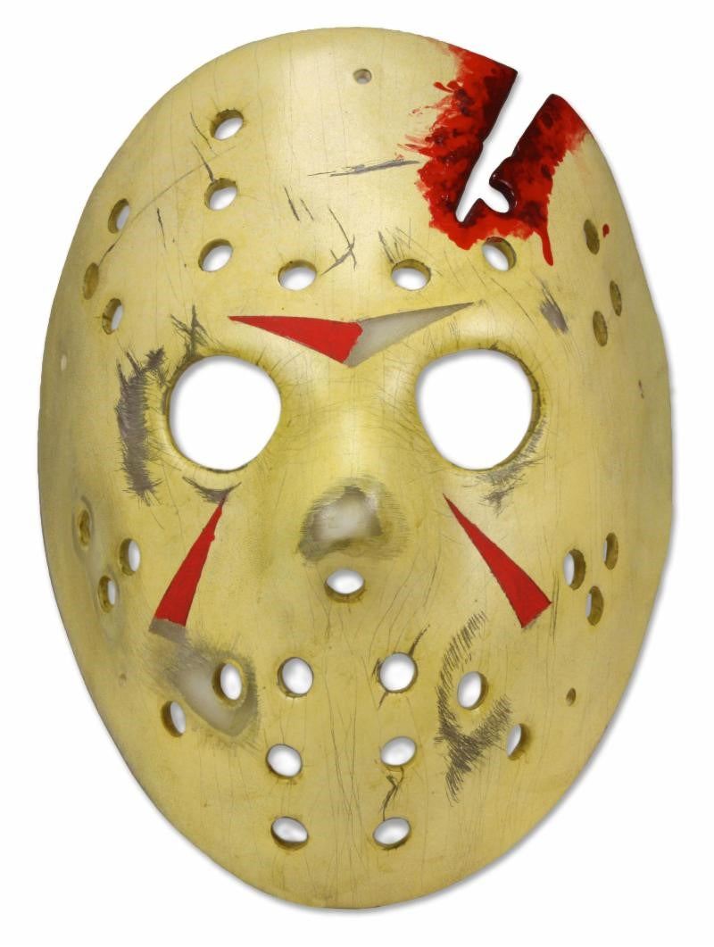 Friday the 13th - Prop Replica - Jason Mask Part 4 Final Chapter NECA (IN STOCK) - The Crimson Screen Collectibles, horror movie collectibles, horror movie toys, horror movies, blu-rays, dvds, vhs, NECA Toys, Mezco Toyz, Pop!, Shout Factory, Scream Factory, Arrow Video, Severin Films, Horror t-shirts