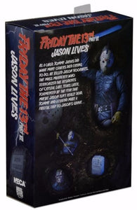 "Friday the 13th – 7"" Scale Action Figure – Ultimate Part 6 Jason (IN STOCK) - The Crimson Screen Collectibles, horror movie collectibles, horror movie toys, horror movies, blu-rays, dvds, vhs, NECA Toys, Mezco Toyz, Pop!, Shout Factory, Scream Factory, Arrow Video, Severin Films, Horror t-shirts"