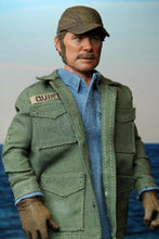 "Jaws – 8"" Clothed Action Figure – Sam Quint (PRE-ORDER) - The Crimson Screen Collectibles, horror movie collectibles, horror movie toys, horror movies, blu-rays, dvds, vhs, NECA Toys, Mezco Toyz, Pop!, Shout Factory, Scream Factory, Arrow Video, Severin Films, Horror t-shirts"