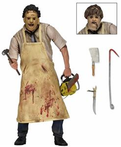 "Texas Chainsaw Massacre - 7"" Action Figure - Ultimate Leatherface (RESTOCKING/PRE-ORDER) - The Crimson Screen Collectibles, horror movie collectibles, horror movie toys, horror movies, blu-rays, dvds, vhs, NECA Toys, Mezco Toyz, Pop!, Shout Factory, Scream Factory, Arrow Video, Severin Films, Horror t-shirts"