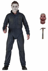Halloween (2018) - 1/4 Scale Action Figure - Michael Myers - The Crimson Screen Collectibles, horror movie collectibles, horror movie toys, horror movies, blu-rays, dvds, vhs, NECA Toys, Mezco Toyz, Pop!, Shout Factory, Scream Factory, Arrow Video, Severin Films, Horror t-shirts