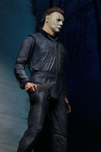 "Halloween (2018) - 7"" Scale Action Figure - Ultimate Michael Myers (RESTOCKING/PRE-ORDER) - The Crimson Screen Collectibles, horror movie collectibles, horror movie toys, horror movies, blu-rays, dvds, vhs, NECA Toys, Mezco Toyz, Pop!, Shout Factory, Scream Factory, Arrow Video, Severin Films, Horror t-shirts"