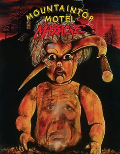 MOUNTAINTOP MOTEL MASSACRE (BLU-RAY/DVD COMBO) - The Crimson Screen Collectibles, horror movie collectibles, horror movie toys, horror movies, blu-rays, dvds, vhs, NECA Toys, Mezco Toyz, Pop!, Shout Factory, Scream Factory, Arrow Video, Severin Films, Horror t-shirts