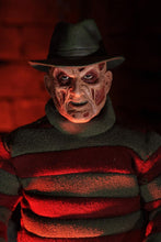"Nightmare On Elm Street - 8"" Clothed Figure - New Nightmare Freddy (IN STOCK) - The Crimson Screen Collectibles, horror movie collectibles, horror movie toys, horror movies, blu-rays, dvds, vhs, NECA Toys, Mezco Toyz, Pop!, Shout Factory, Scream Factory, Arrow Video, Severin Films, Horror t-shirts"