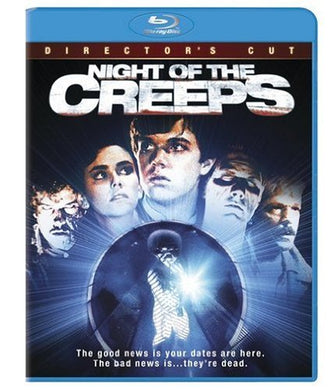 Night of the Creeps (Blu-Ray) - The Crimson Screen Collectibles, horror movie collectibles, horror movie toys, horror movies, blu-rays, dvds, vhs, NECA Toys, Mezco Toyz, Pop!, Shout Factory, Scream Factory, Arrow Video, Severin Films, Horror t-shirts