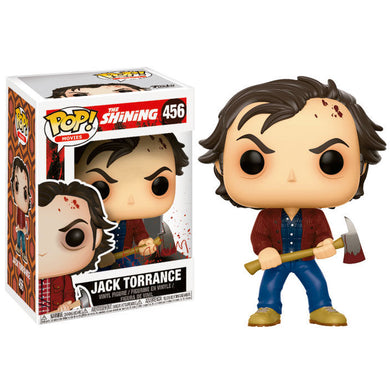 Pop! Horror Vinyl Figure: Jack Torrance The Shining - The Crimson Screen Collectibles, horror movie collectibles, horror movie toys, horror movies, blu-rays, dvds, vhs, NECA Toys, Mezco Toyz, Pop!, Shout Factory, Scream Factory, Arrow Video, Severin Films, Horror t-shirts