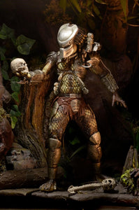 "Predator - 7"" Action Figure - Ultimate Jungle Hunter - The Crimson Screen Collectibles, horror movie collectibles, horror movie toys, horror movies, blu-rays, dvds, vhs, NECA Toys, Mezco Toyz, Pop!, Shout Factory, Scream Factory, Arrow Video, Severin Films, Horror t-shirts"