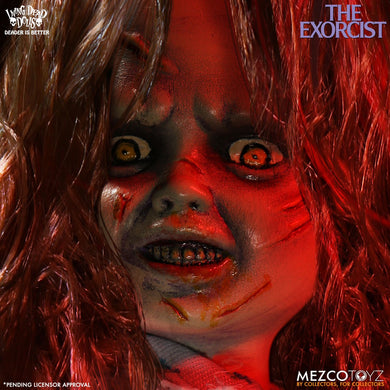 LDD Presents  The Exorcist (PRE-ORDER) - The Crimson Screen Collectibles, horror movie collectibles, horror movie toys, horror movies, blu-rays, dvds, vhs, NECA Toys, Mezco Toyz, Pop!, Shout Factory, Scream Factory, Arrow Video, Severin Films, Horror t-shirts