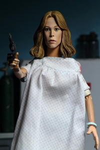 "Halloween 2 - 8"" Scale Clothed Figure - Doctor Loomis & Laurie Strode 2-Pack (PRE-ORDER) - The Crimson Screen Collectibles, horror movie collectibles, horror movie toys, horror movies, blu-rays, dvds, vhs, NECA Toys, Mezco Toyz, Pop!, Shout Factory, Scream Factory, Arrow Video, Severin Films, Horror t-shirts"