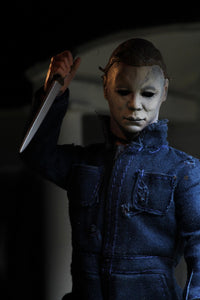 "Halloween 2 - 8"" Scale Clothed Figure- Michael Myers (PRE-ORDER) - The Crimson Screen Collectibles, horror movie collectibles, horror movie toys, horror movies, blu-rays, dvds, vhs, NECA Toys, Mezco Toyz, Pop!, Shout Factory, Scream Factory, Arrow Video, Severin Films, Horror t-shirts"