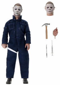 "Halloween 2 - 8"" Scale Clothed Figure- Michael Myers - The Crimson Screen Collectibles, horror movie collectibles, horror movie toys, horror movies, blu-rays, dvds, vhs, NECA Toys, Mezco Toyz, Pop!, Shout Factory, Scream Factory, Arrow Video, Severin Films, Horror t-shirts"