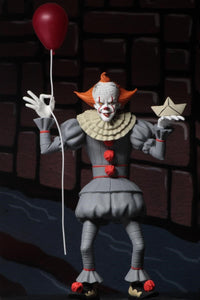 "Toony Terrors - 6"" Scale Action Pennywise (2017) Figure (IN STOCK) - The Crimson Screen Collectibles, horror movie collectibles, horror movie toys, horror movies, blu-rays, dvds, vhs, NECA Toys, Mezco Toyz, Pop!, Shout Factory, Scream Factory, Arrow Video, Severin Films, Horror t-shirts"