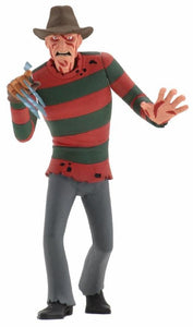 "Toony Terrors - 6"" Scale Action Freddy Krueger Figure (IN STOCK) - The Crimson Screen Collectibles, horror movie collectibles, horror movie toys, horror movies, blu-rays, dvds, vhs, NECA Toys, Mezco Toyz, Pop!, Shout Factory, Scream Factory, Arrow Video, Severin Films, Horror t-shirts"