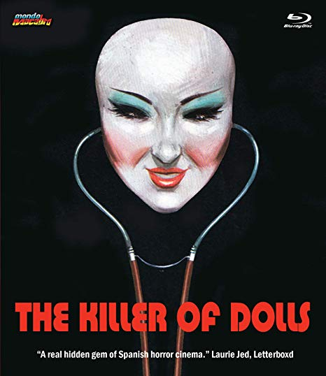 KILLER OF DOLLS (BLU-RAY) - The Crimson Screen Collectibles, horror movie collectibles, horror movie toys, horror movies, blu-rays, dvds, vhs, NECA Toys, Mezco Toyz, Pop!, Shout Factory, Scream Factory, Arrow Video, Severin Films, Horror t-shirts