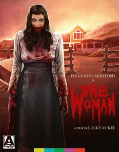 THE WOMAN (BLU-RAY/2011) - The Crimson Screen Collectibles, horror movie collectibles, horror movie toys, horror movies, blu-rays, dvds, vhs, NECA Toys, Mezco Toyz, Pop!, Shout Factory, Scream Factory, Arrow Video, Severin Films, Horror t-shirts