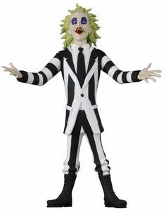 "Toony Terrors  Series 4 - Beetlejuice - 6"" Scale Action Figure   (PRE-ORDER) - The Crimson Screen Collectibles, horror movie collectibles, horror movie toys, horror movies, blu-rays, dvds, vhs, NECA Toys, Mezco Toyz, Pop!, Shout Factory, Scream Factory, Arrow Video, Severin Films, Horror t-shirts"