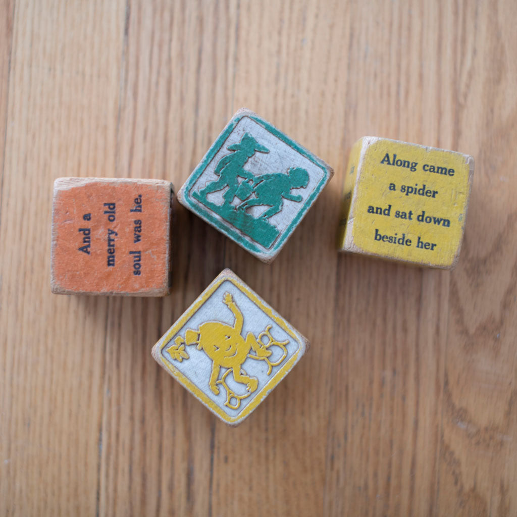 Uncle Goose Nursery Rhyme Blocks