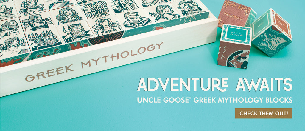Uncle Goose Greek Mythology Blocks