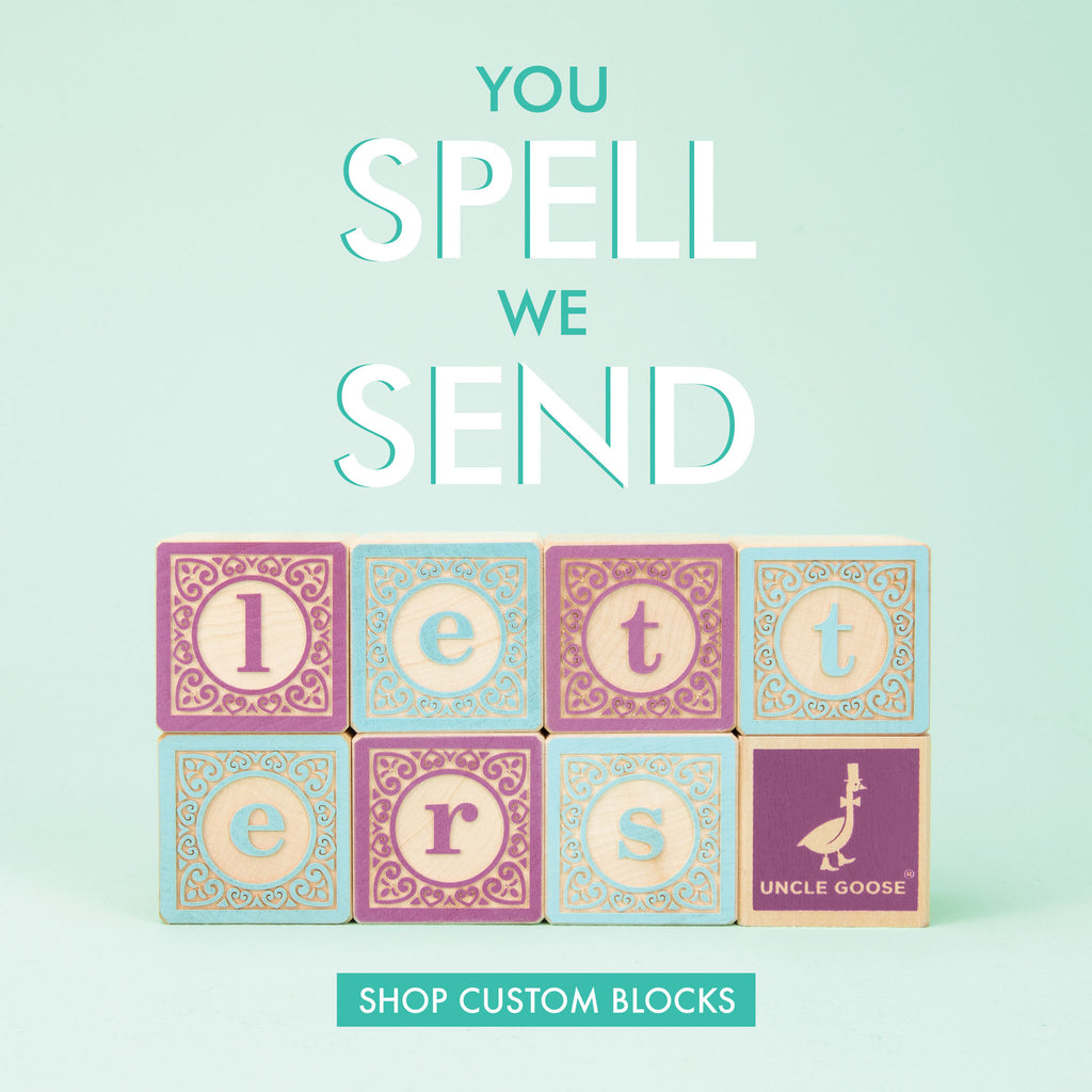 Uncle Goose Classic Letter Blocks