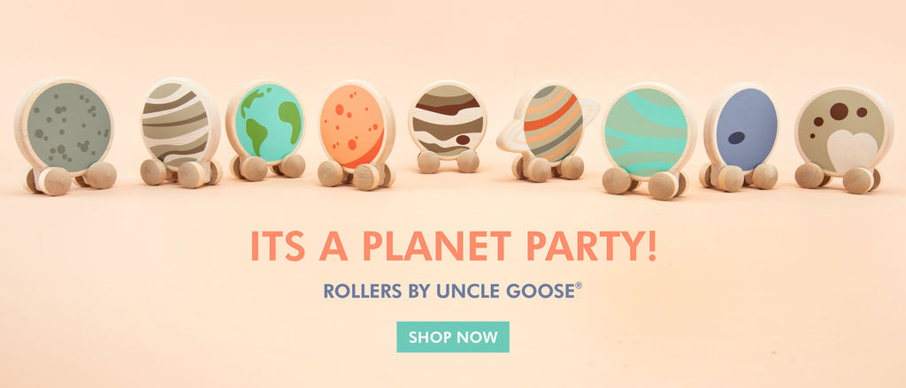 Uncle Goose Planet Rollers
