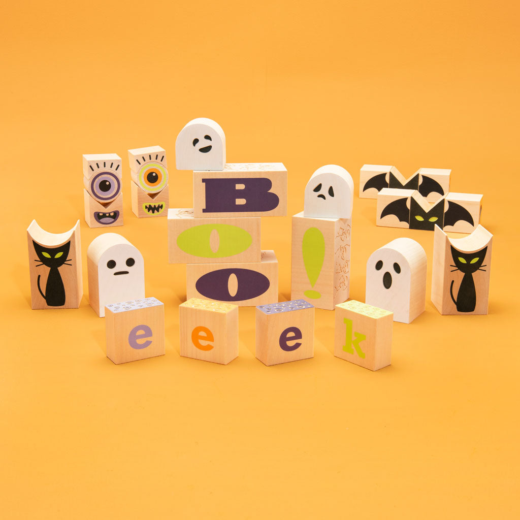 Uncle Goose Groovy Ghoulie Blocks