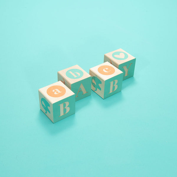 Baby Blocks for Baby Sprinkle Gifts