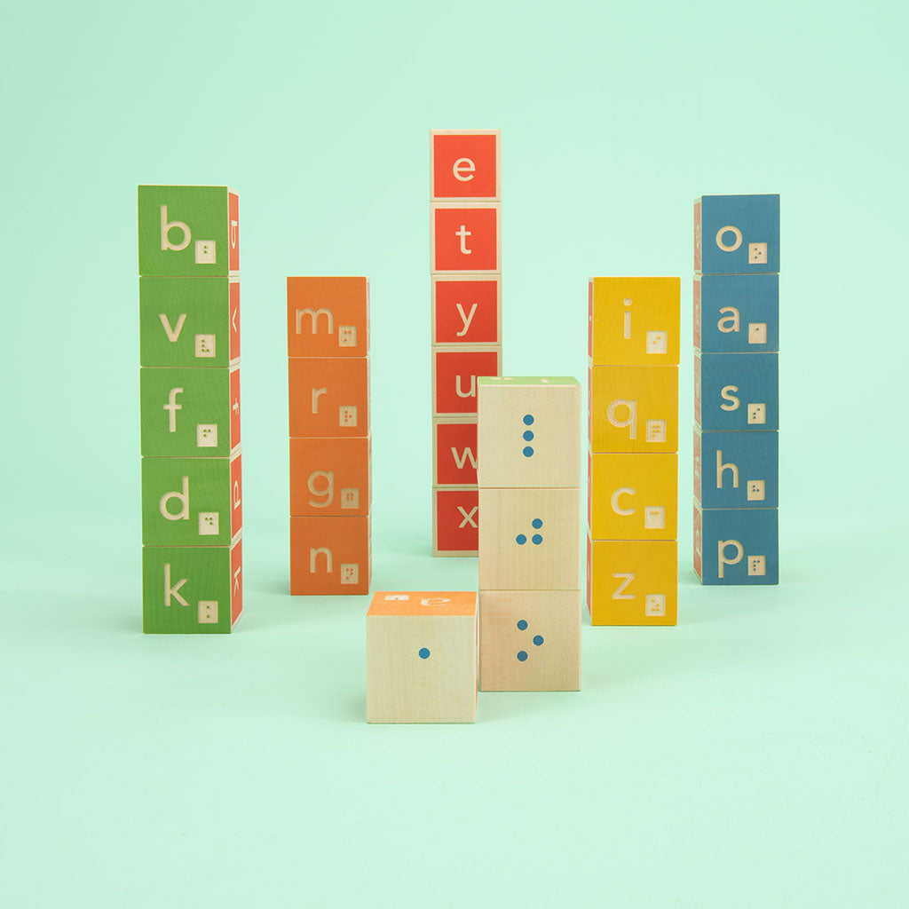 Uncle Goose Braille Blocks