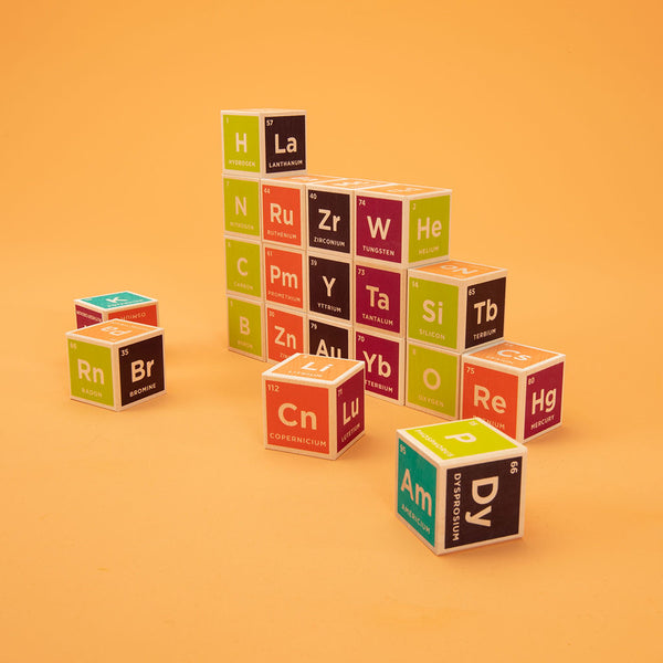 Elemental Blocks by Uncle Goose Periodic Table