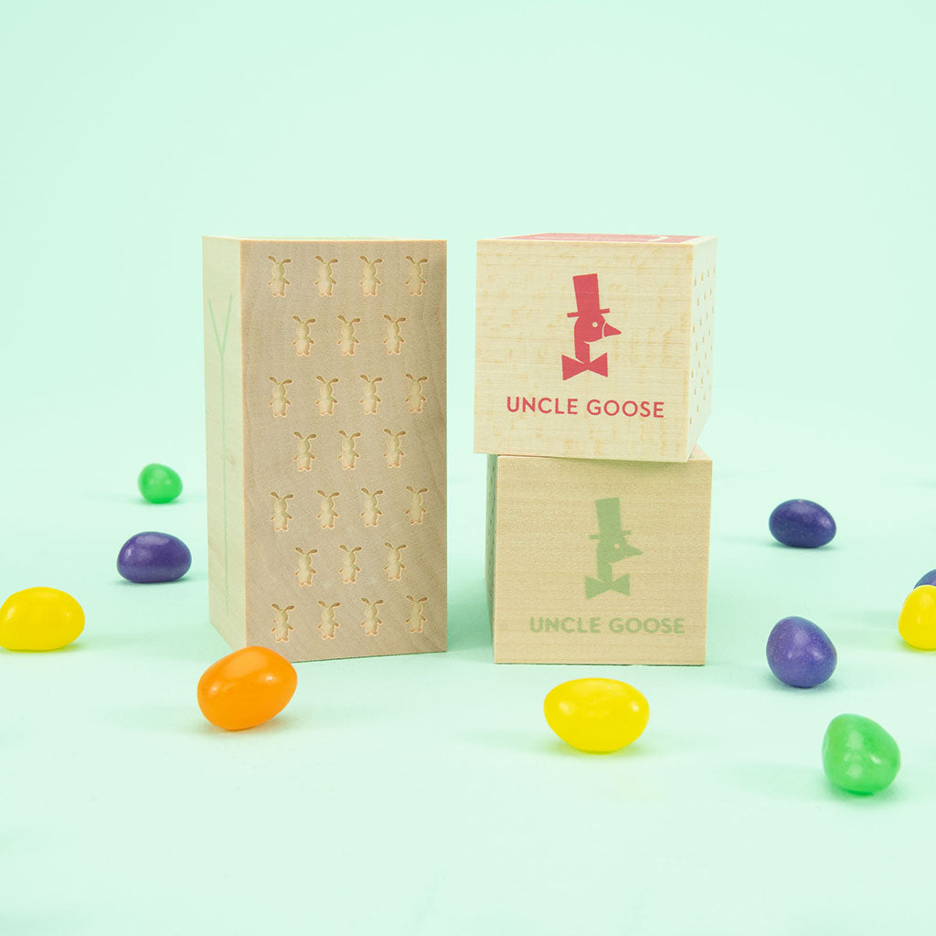 Uncle Goose Happy Easter Letter Blocks