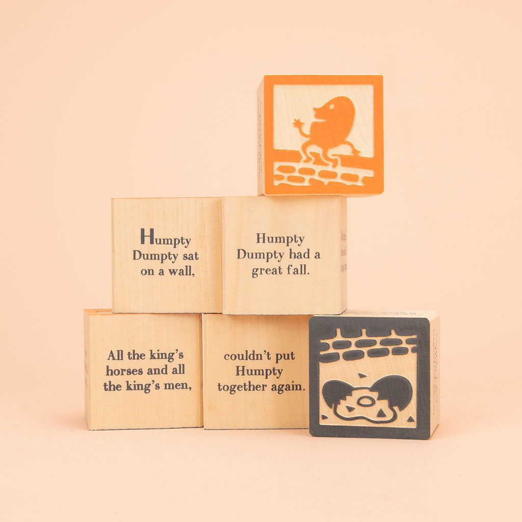 Uncle Goose Nursery Rhyme Favorite Blocks