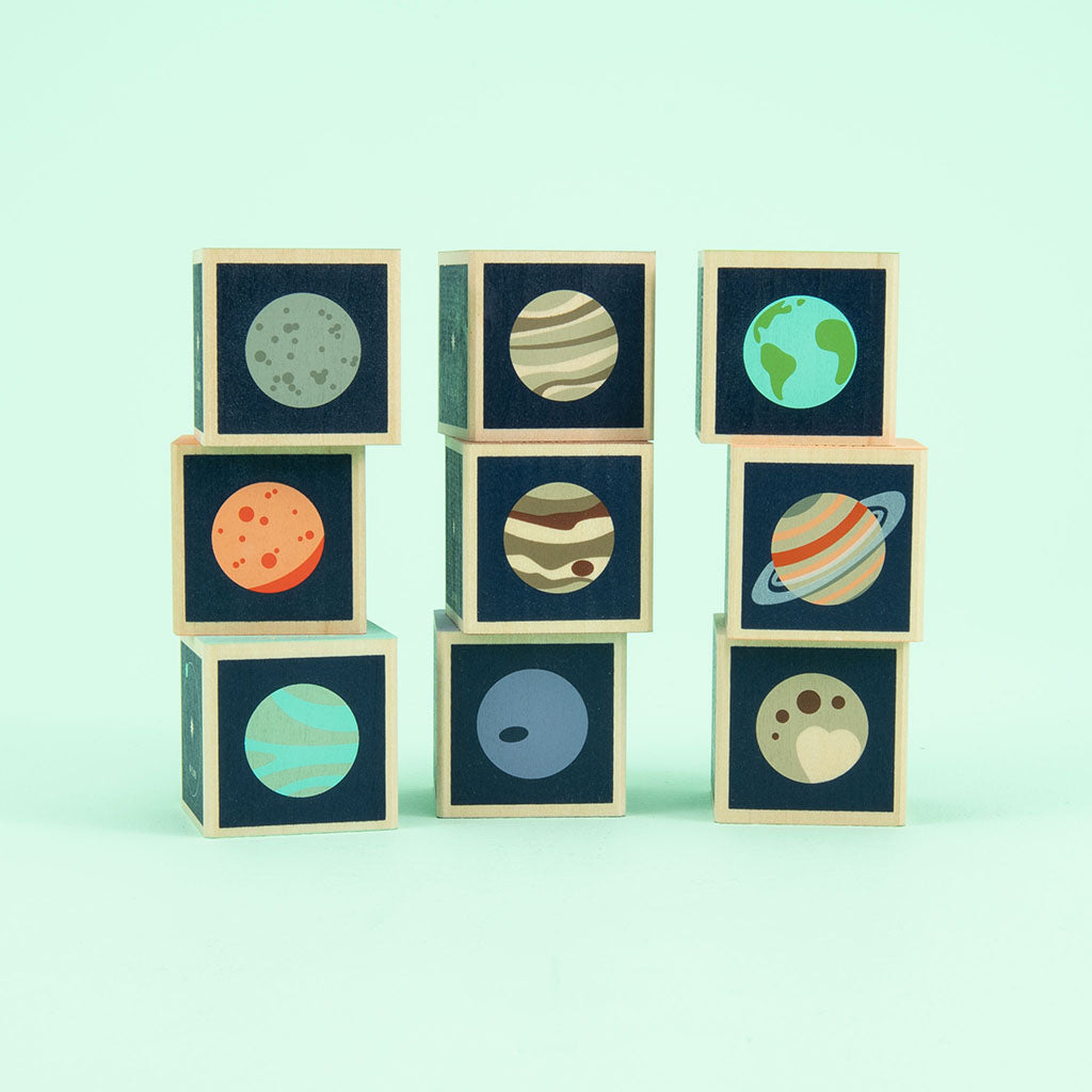 Uncle Goose Planet Blocks