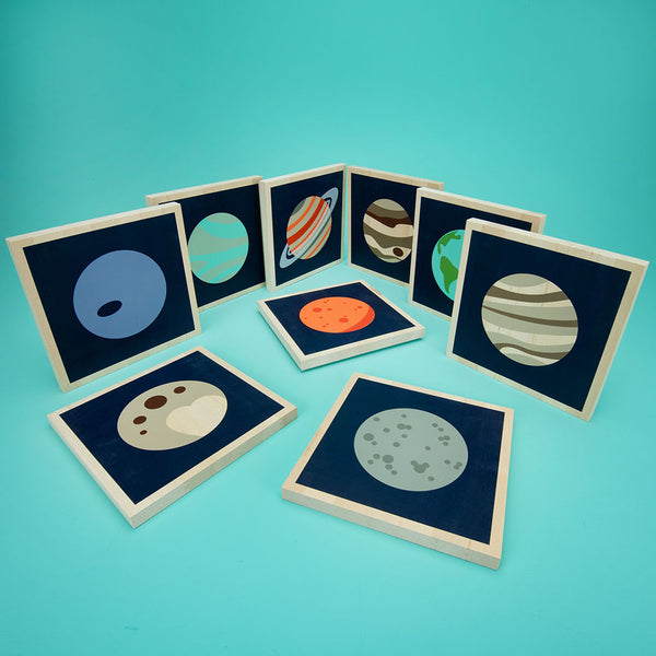 Planet tiles by Uncle Goose. Collect all 9!