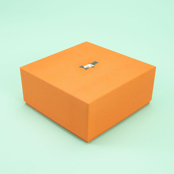 Upscale Orange Box Uncle Goose