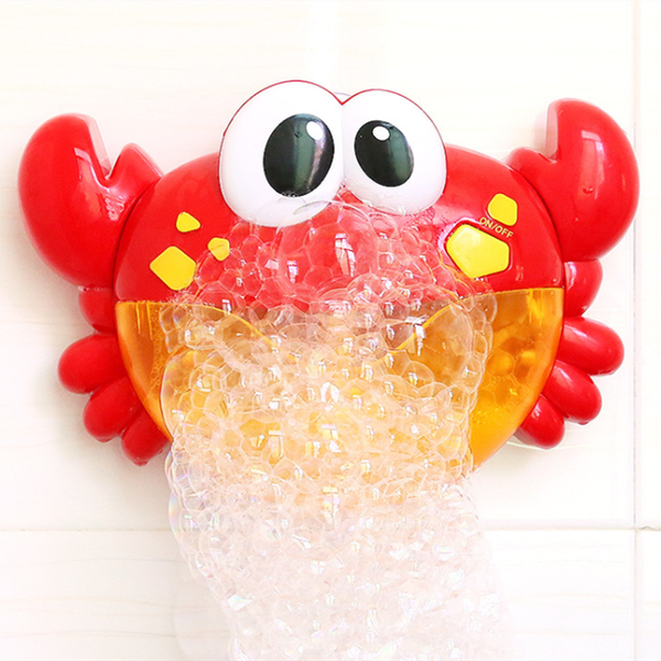 Baby Bath Bubble Toy Crab Frog Bubble Blower Bubble Machine Bubble Maker