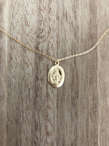 May Martin VIRGIN MARY NECKLACE