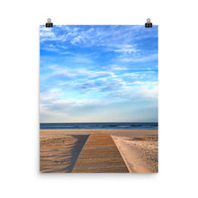 To the Beach Photo paper poster
