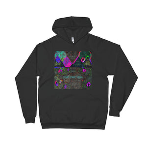 Explore Vida Mountains Unisex Fleece Hoodie