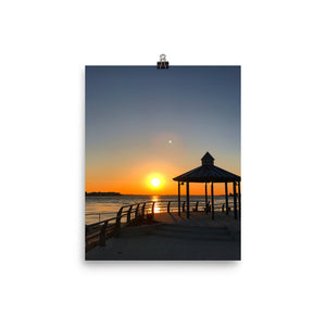 Indian River Relax Photo paper poster