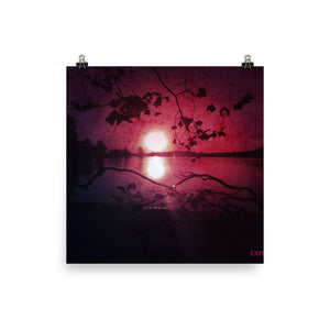 Find the Light Photo paper poster