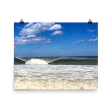 OC Wave Photo paper poster