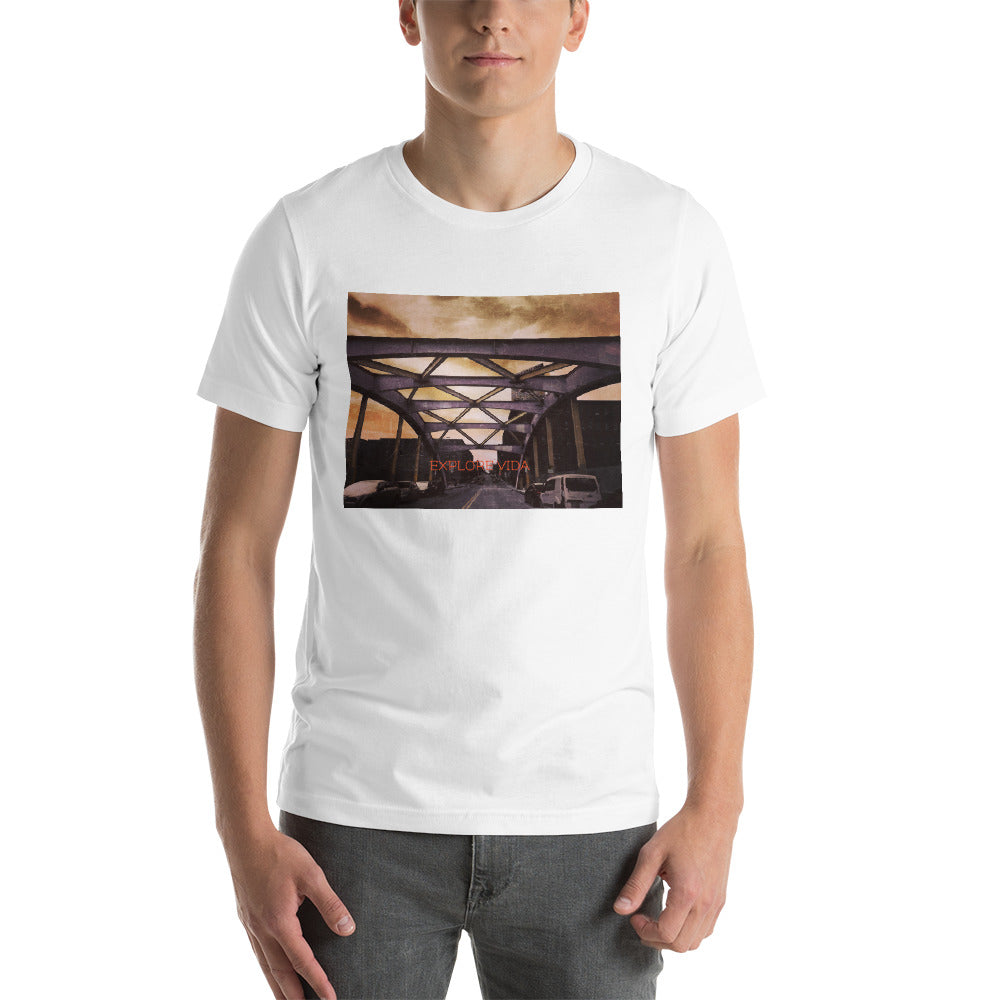 Explore Vida In Baltimore Short-Sleeve Unisex T-Shirt