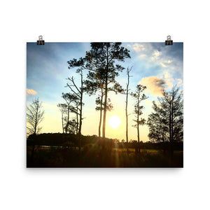 Calm Photo paper poster