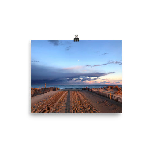 Delaware Beach Photo paper poster